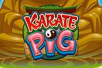 Играйте онлайн в автоматы Поросенок Каратист
